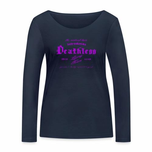 deathless living team violet - Frauen Bio-Langarmshirt von Stanley & Stella