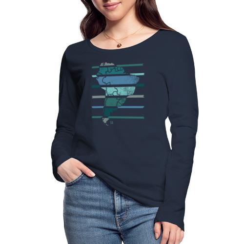South America - Women's Organic Longsleeve Shirt by Stanley & Stella