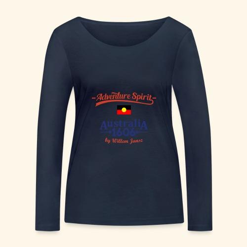 Adventure Spirit Australia - Frauen Bio-Langarmshirt von Stanley & Stella