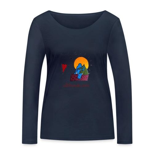 Ullihunde - Logo RETRO - Frauen Bio-Langarmshirt von Stanley & Stella