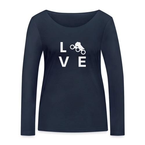 Speedskating Liebe - Frauen Bio-Langarmshirt von Stanley & Stella
