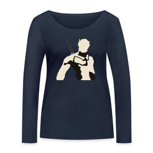 Genji - Ekologiczna koszulka damska z długim rękawem Stanley & Stella