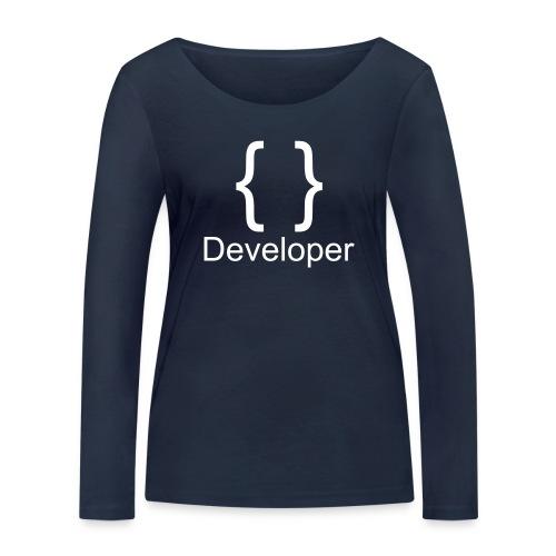 Developer - Frauen Bio-Langarmshirt von Stanley & Stella