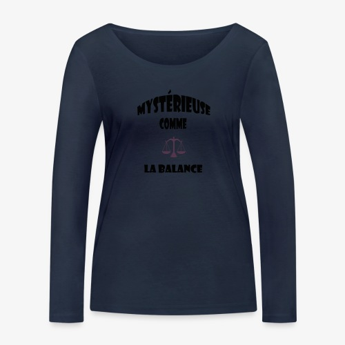 balance - T-shirt manches longues bio Stanley & Stella Femme