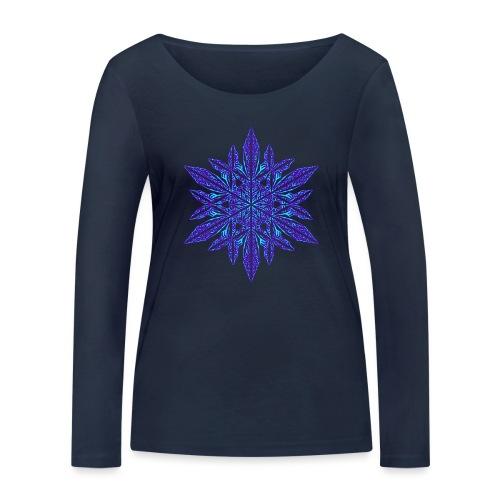 Schneeflocke II - Frauen Bio-Langarmshirt von Stanley & Stella