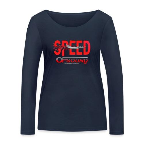 Speed of sound 1947 - T-shirt manches longues bio Stanley & Stella Femme