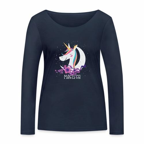 Magisches Einhorn - Frauen Bio-Langarmshirt von Stanley & Stella