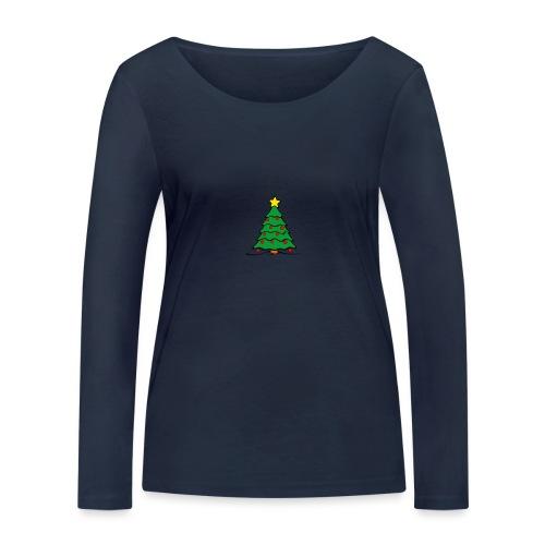 Christmas-Tree - Frauen Bio-Langarmshirt von Stanley & Stella