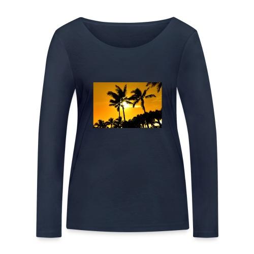 pam trees - Ekologisk långärmad T-shirt dam från Stanley & Stella