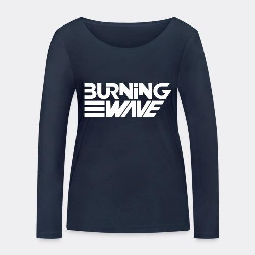 Burning Wave Block - T-shirt manches longues bio Stanley & Stella Femme