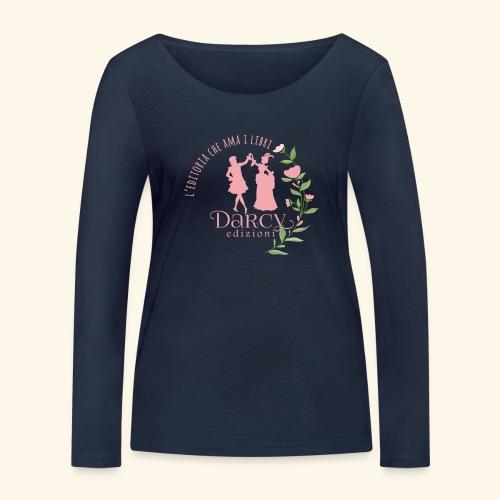 Darcy Edizioni - Maglietta a manica lunga ecologica da donna di Stanley & Stella
