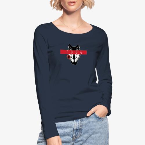 Wolf and Rose F00G - Camiseta de manga larga ecológica mujer de Stanley & Stella