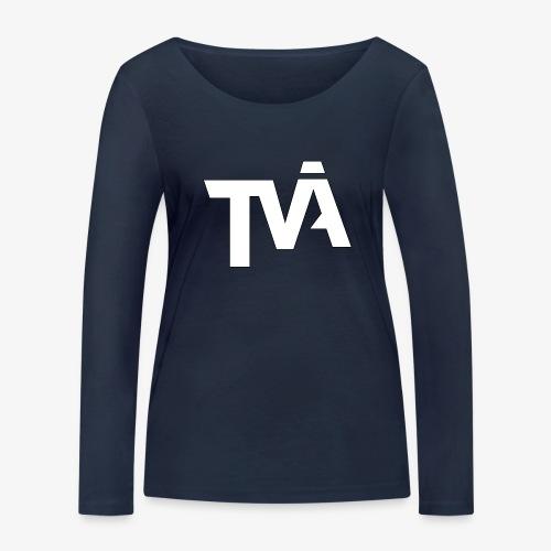 TVÅHUNDRA VIT - Ekologisk långärmad T-shirt dam från Stanley & Stella
