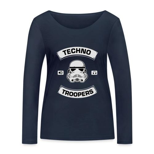techno troopers - Frauen Bio-Langarmshirt von Stanley & Stella