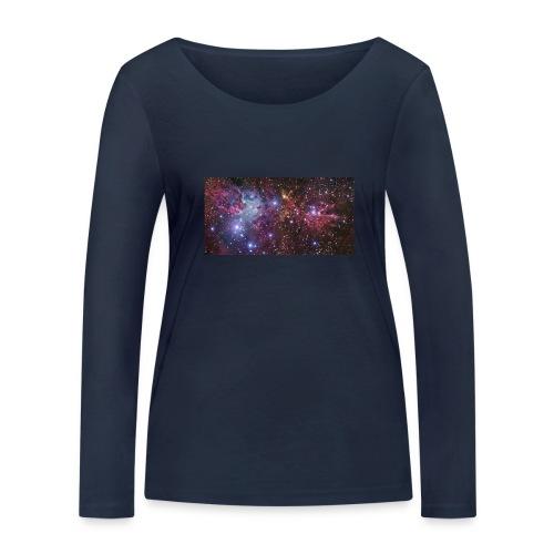 Stjernerummet Mullepose - Økologisk Stanley & Stella langærmet T-shirt til damer