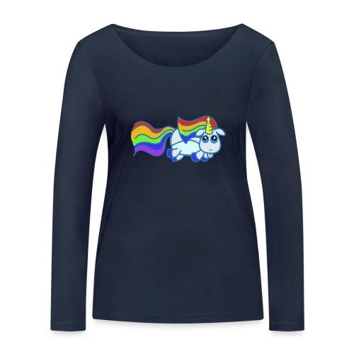 Nyan unicorn - Maglietta a manica lunga ecologica da donna di Stanley & Stella