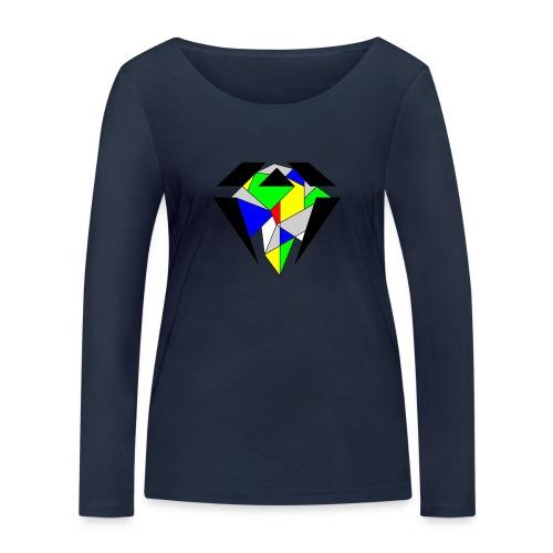 J.O.B. Diamant Colour - Frauen Bio-Langarmshirt von Stanley & Stella