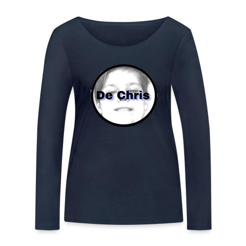De Chris logo - Vrouwen bio shirt met lange mouwen van Stanley & Stella
