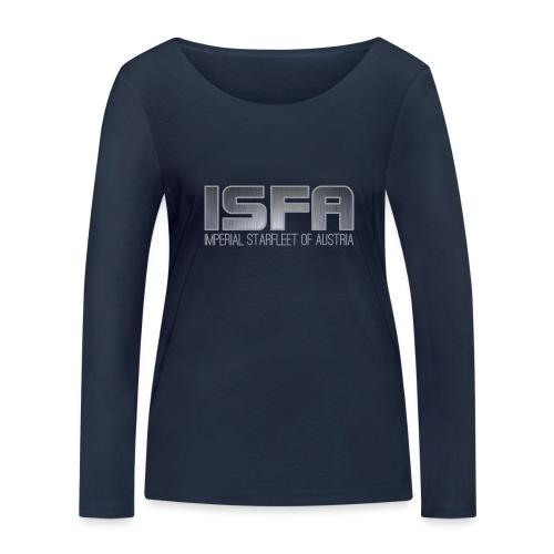 ISFA Logo Abzeichen3 - Frauen Bio-Langarmshirt von Stanley & Stella