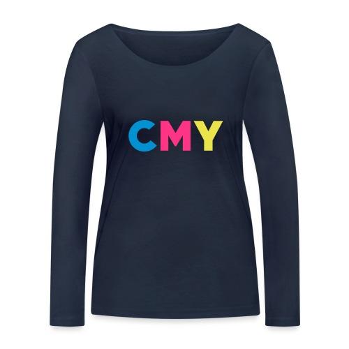 CMYK - Vrouwen bio shirt met lange mouwen van Stanley & Stella