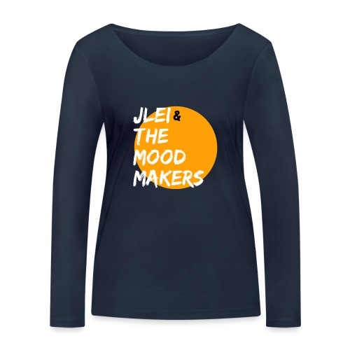 Jlei & The Mood Makers Bandlogo - Frauen Bio-Langarmshirt von Stanley & Stella