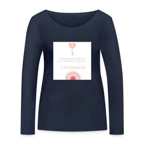 Portes du coeur! - T-shirt manches longues bio Stanley & Stella Femme