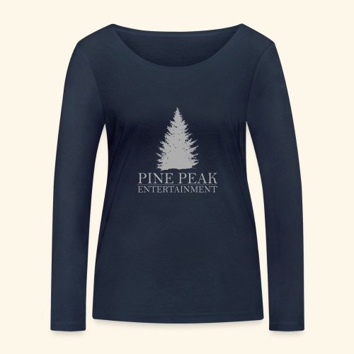 Pine Peak Entertainment Grey - Vrouwen bio shirt met lange mouwen van Stanley & Stella