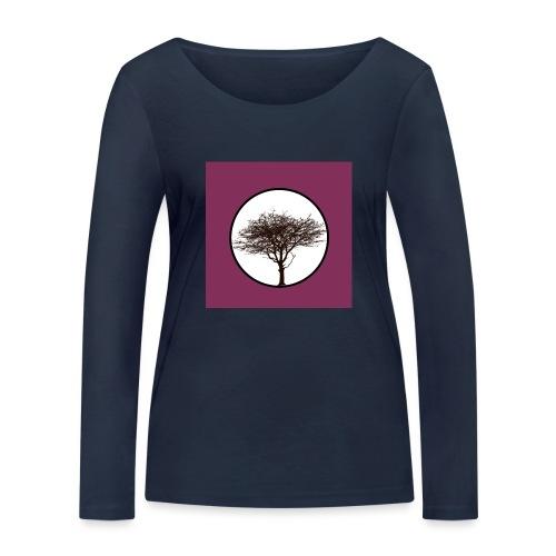 Baum in Kreis - Frauen Bio-Langarmshirt von Stanley & Stella