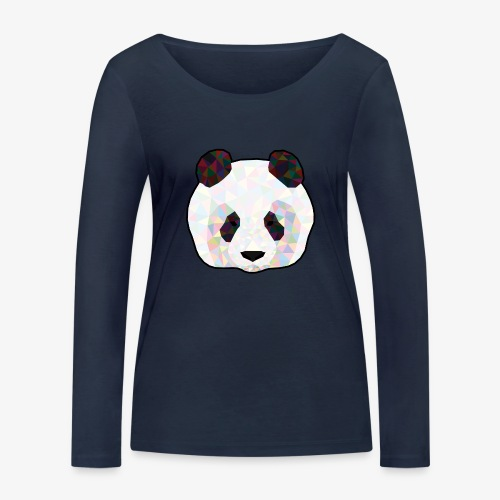 Panda - T-shirt manches longues bio Stanley & Stella Femme