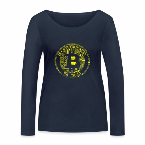 In cryptography we trust 2 - Women's Organic Longsleeve Shirt by Stanley & Stella