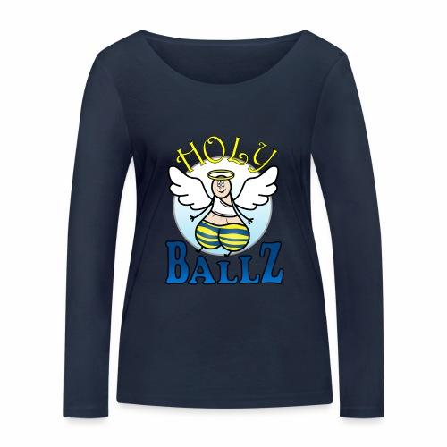 Holy Ballz Charlie - Women's Organic Longsleeve Shirt by Stanley & Stella
