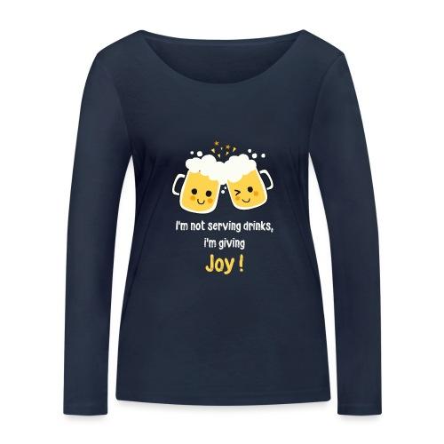 Giving Joy - Women's Organic Longsleeve Shirt by Stanley & Stella