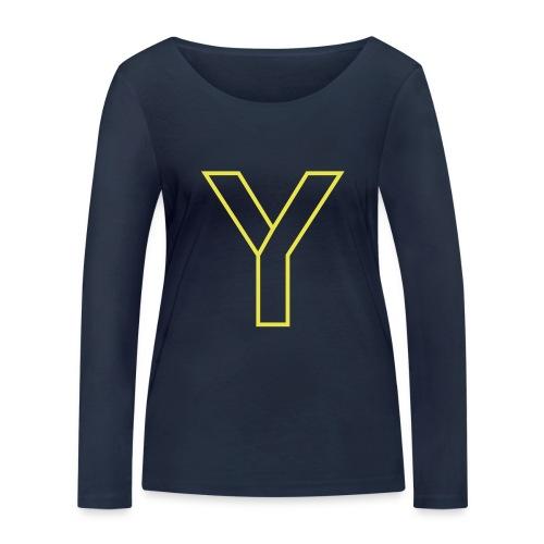 ChangeMy.Company Y Yellow - Frauen Bio-Langarmshirt von Stanley & Stella
