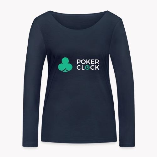 Poker Clock Logo - Frauen Bio-Langarmshirt von Stanley & Stella
