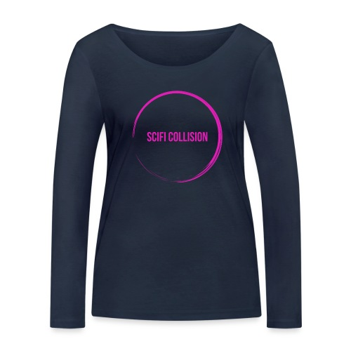 Pink Logo - Women's Organic Longsleeve Shirt by Stanley & Stella