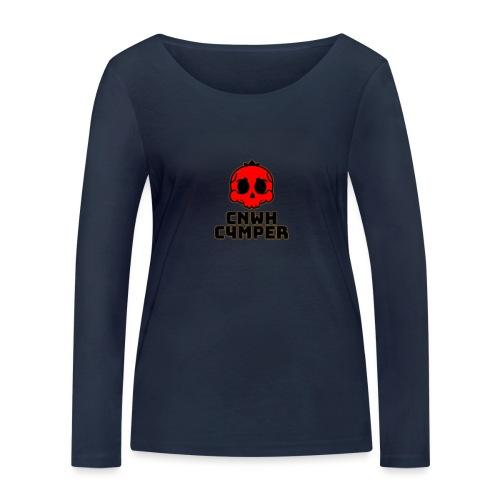 CnWh C4mper Merch - Ekologisk långärmad T-shirt dam från Stanley & Stella