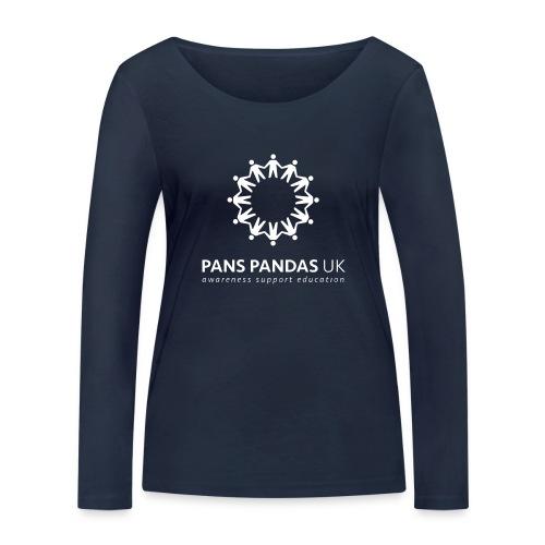 PANS PANDAS MULTI LOGO - Women's Organic Longsleeve Shirt by Stanley & Stella