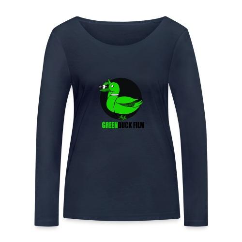 Greenduck Film Logo w. black letters - Økologisk Stanley & Stella langærmet T-shirt til damer