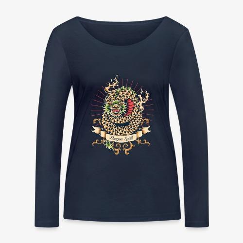 Drachengeist - Frauen Bio-Langarmshirt von Stanley & Stella