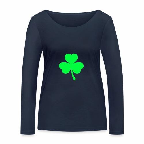 suerte - Camiseta de manga larga ecológica mujer de Stanley & Stella