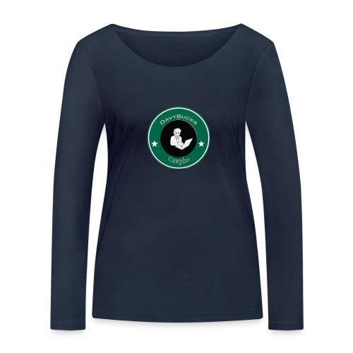 DavyBucks - Vrouwen bio shirt met lange mouwen van Stanley & Stella