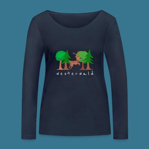 Westerwälder Wildlife - Frauen Bio-Langarmshirt von Stanley & Stella