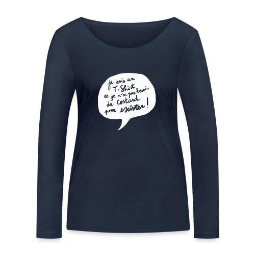 tshirtpascostard - T-shirt manches longues bio Stanley & Stella Femme