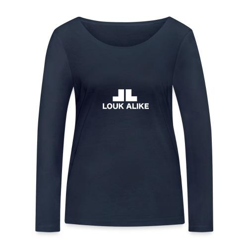 Louk Alike (donekere pull-kleuren) - Vrouwen bio shirt met lange mouwen van Stanley & Stella