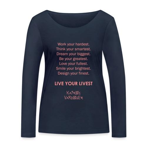 Kairos Vardoger - Vrouwen bio shirt met lange mouwen van Stanley & Stella
