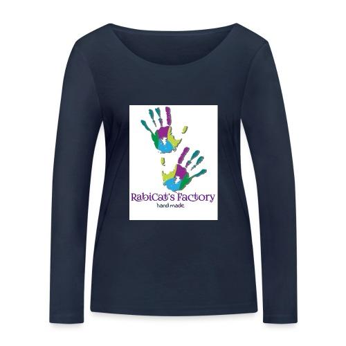 rabicat_mani - Maglietta a manica lunga ecologica da donna di Stanley & Stella