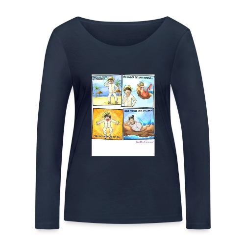 Tremenda Sirena - Camiseta de manga larga ecológica mujer de Stanley & Stella