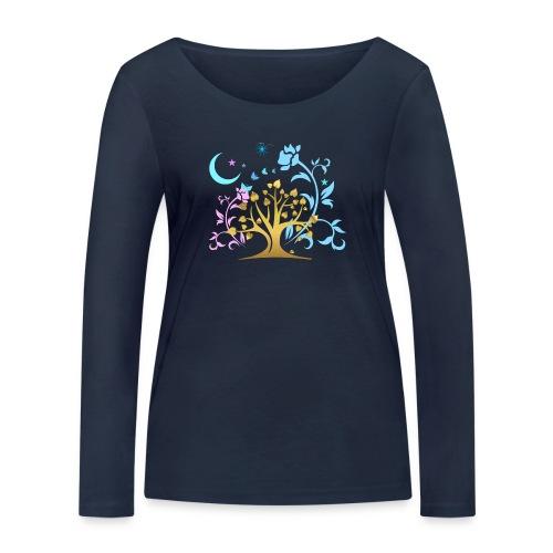 Mystic Tree - Frauen Bio-Langarmshirt von Stanley & Stella