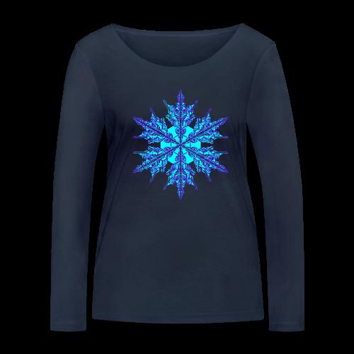 Schneeflocke IV - Frauen Bio-Langarmshirt von Stanley & Stella