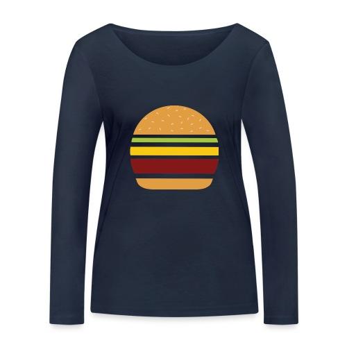 Logo Burger Panhamburger - T-shirt manches longues bio Stanley & Stella Femme
